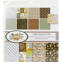 """Reminisce  - Kit Collezione Hello Autumn - 12x12"""""""