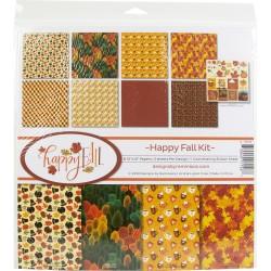 """Reminisce  - Kit Collezione Happy Fall - 12x12"""""""