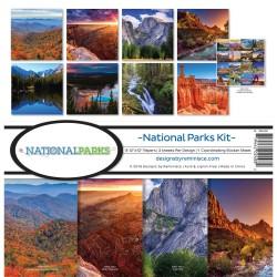 "Reminisce  - Kit Collezione National Parks- 12x12"""