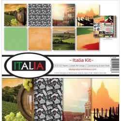 """Reminisce  - Kit Collezione Italia- 12x12"""""""