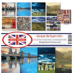"""Reminisce  - Kit Collezione Great Britain - 12x12"""""""
