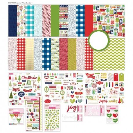 "Bella BLVD - Kit completo Christmas 1 - 12x12"""