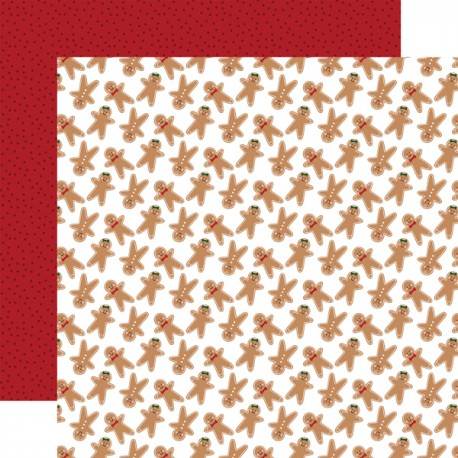 "Echo Park - Carta 12x12"" - A Gingerbread Christmas - 08"