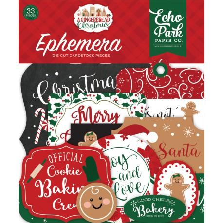 Echo Park - Ephemera - A Gingerbread Christmas