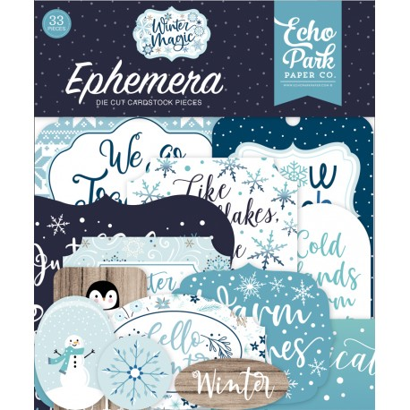 Echo Park - Ephemera - Winter Magic