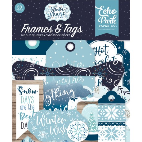 Echo Park - Frames & Tags - Winter Magic