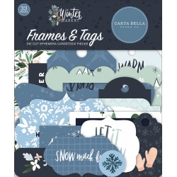 Carta Bella - Frames & Tags - Winter Market