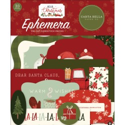 Carta Bella - Ephemera - Hello Christmas
