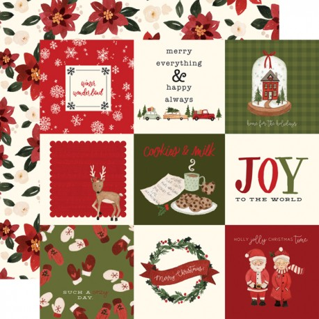"Carta Bella - Carta 12x12"" - Hello Christmas 12"