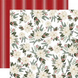 "Carta Bella - Carta 12x12"" - Farmhouse Christmas 02"