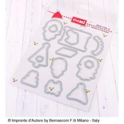 Impronte d'Autore - Fustella - Natale in Famiglia