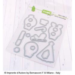 Impronte d'Autore - Fustella - Natale Camouflage