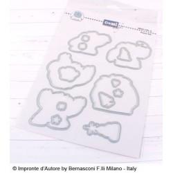 Impronte d'Autore - Fustella - Happy Yeti