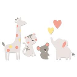 Sizzix - Fustella Bigz - Zoo Friends
