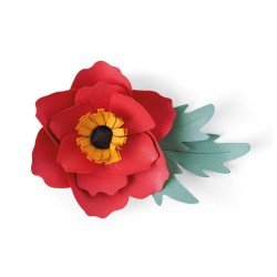 Sizzix - Fustella Bigz - Anemone Flower