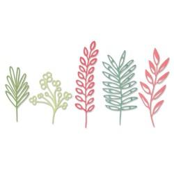 Sizzix - Fustella Thinlits - Delicate Leaves