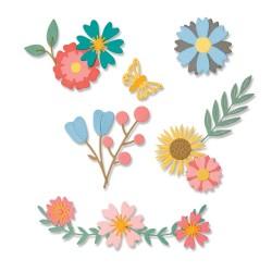 Sizzix - Fustella Thinlits - Petite Petals