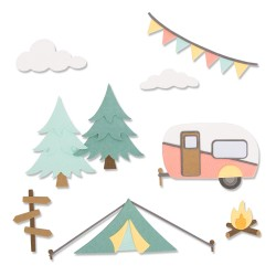 Sizzix - Fustella Thinlits - Great Outdoors