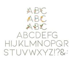Sizzix - Fustella Thinlits - Decorative Type