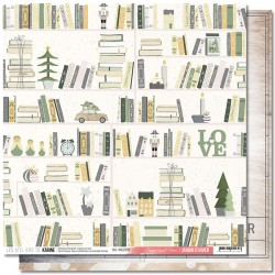 """Les Ateliers de Karine - Carta Jardin d'Hiver 12x12"""" - 03"""