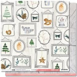 """Les Ateliers de Karine - Carta Jardin d'Hiver 12x12"""" - 04"""