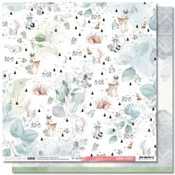 """Les Ateliers de Karine - Carta Jardin d'Hiver 12x12"""" - 05"""