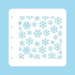 Nellie Snellen - Stencil - Snowflakes