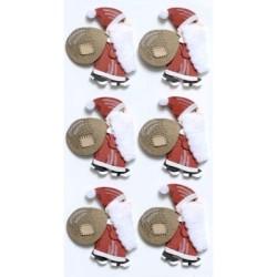 Artoz - Stickers - Santa Claus