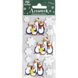 Artoz - Stickers - Singing Penguins