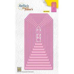 Nellie Snellen - Fustelle - Stitched straight tag-2
