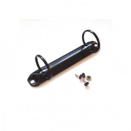 DCIC- Meccanismo Anelli - 2 Anelli di 3cm Nero