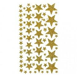 Artemio - Abbellimenti - Stickers Stelle Oro