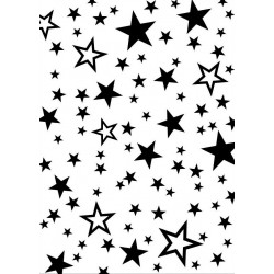 Artemio - Embossing Folder - Etoiles