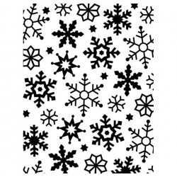 Artemio - Embossing Folder - Grands Flocons
