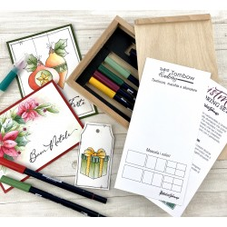 Tombow - Set Dual Brush per NATALE