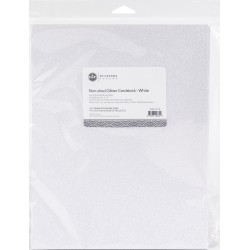 Etc Papers - Carta Glitterata - White