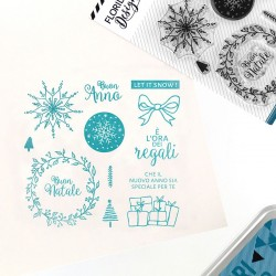 Florileges Design - Timbri Clear - AUGURI DI NATALE