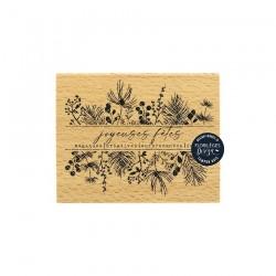 Florileges  Design - Timbro legno - FÊTES MAGIQUES