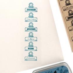 Florileges  Design - Timbro legno - MOLLETTE RICORDI