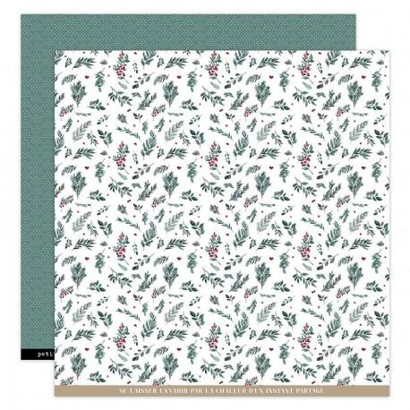 Florileges Design - Carte 12x12 - Oh Winter n°7