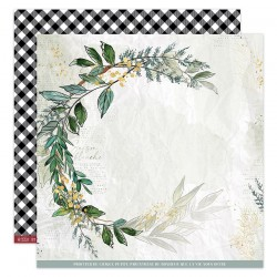Florileges Design - Carte 12x12 - Oh Winter n°4