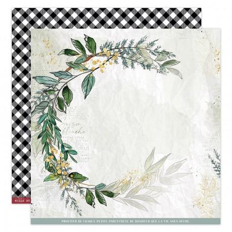 Florileges Design - Carte 12x12 - Oh Winter n°4