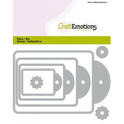 Craft Emotions - Fustella - Label 4 sizes
