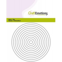 Craft Emotions - Fustella - Edges Straight Circle