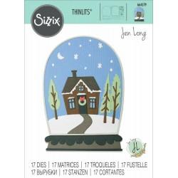 Sizzix - Fustella Thinlits - Bell Jar Diorama²