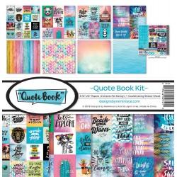 """Reminisce  - Kit Collezione Quote Book - 12x12"""""""