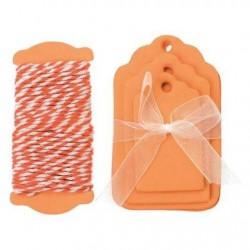 Glorex - Kit tags - Arancione