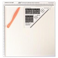Impronte d'Autore - Tavola per cordonare carta e cartoncino - Plisse