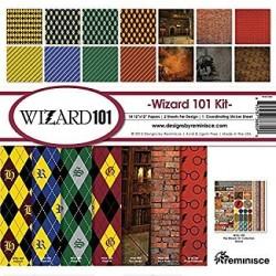 """Reminisce  - Kit Collezione Wizard 101- 12x12"""""""