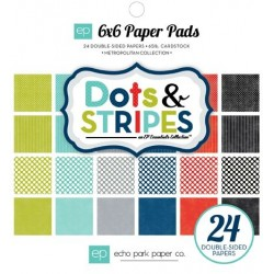 Dots & Stripes 6x6 pad Metropolitan collections
